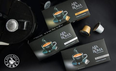 Новинка! Кофе в капсулах компании Alta Roma